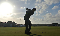 david Howell (ENG) during the final round of the Alfred Dunhill links Championship Old Course, St Andrews, Fife, Scotland.<br /> Picture Fran Caffrey www.golffile.ie
