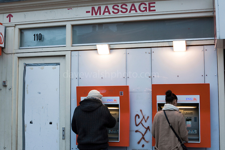 Massage your money, Amsterdam