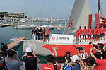 Guests attend the Dongfeng Race Team Official Launch Ceremony & Christening ahead the 2014/15 Volvo Ocean Race on February 26, 2014 in Sanya, China. Photo by Raf Sanchez / Power Sport Images