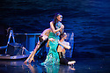 Coventry, UK. 13.03.2014. Christopher Moore's Ballet Theatre UK presents the premiere of THE LITTLE MERMAID, which opens in Coventry's Albany Theatre, prior to a UK tour. The company comprises: Natalie Cawte, Helena Casado Cortes, Claire Corruble, Julia Davies, Ines Ferreira, Jessica Hill, Sarah Mortimer, Kazuka Oike, David Brewer, Vincent Cabot, Joseph-Mackie Graves, Luca Varone. Photograph © Jane Hobson.