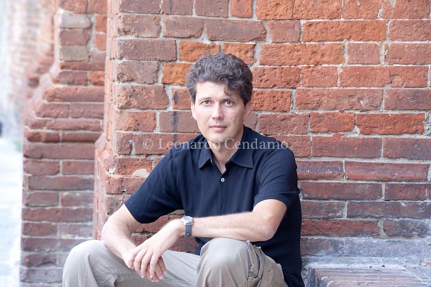 Maurizio Matrone, italian writer © Leonardo Cendamo