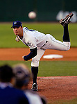 1 September 2007:  Vermont Lake Monsters pitcher Josh Smoker on the mound against the Lowell Spinners at Historic Centennial Field in Burlington, Vermont. Smoker pitched two no-hit innings, striking out three in his professional debut on the mound. The Lake Monsters fell to the Spinners 4-0 in the first game of their 4-game home series...Mandatory Photo Credit: Ed Wolfstein Photo