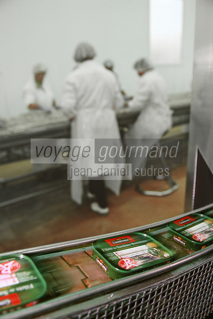 Europe/France/Bretagne/29/Finistère/Douarnenez: Conserverie de Sardines Chancerelle-Connetable / Sardines Label Rouge