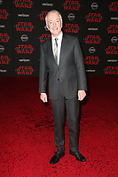 LOS ANGELES, CA - DECEMBER 9: Anthony Daniels, at Premiere Of Disney Pictures And Lucasfilm's 'Star Wars: The Last Jedi' at Shrine Auditorium in Los Angeles, California on December 9, 2017. Credit: Faye Sadou/MediaPunch /NortePhoto.com NORTEPHOTOMEXICO