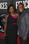 Viola Davis and Julius Tennon attend the 'Fences' New York screening at Rose Theater, Jazz at Lincoln Center on December 19, 2016 in New York City.