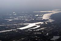 Deutschland, Hamburg, Hafen, Elbe, Hamburger Hafen von den Elbbrücken bis zum Mühlenberger Loch