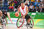 Ozgur Gurbulak (TUR), <br /> SEPTEMBER 8, 2016 - Wheelchair Basketball : <br /> Preliminary Round Group A<br /> match between Turkey 65-49 Japan<br /> at Carioca Arena 1<br /> during the Rio 2016 Paralympic Games in Rio de Janeiro, Brazil.<br /> (Photo by AFLO SPORT)