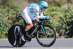 Miguel Angel Lopez (COL) Astana in action during Stage 16 of the 2017 La Vuelta, an individual time trial running 40.2km from Circuito de Navarra to Logro&ntilde;o, Spain. 5th September 2017.<br /> Picture: Unipublic/&copy;photogomezsport | Cyclefile<br /> <br /> <br /> All photos usage must carry mandatory copyright credit (&copy; Cyclefile | Unipublic/&copy;photogomezsport)