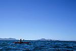 Kayaking on the Sea of Cortez (Gulf of California), Bahia de los Angeles, Baja California, Mexico
