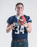 NWA Democrat-Gazette/ANTHONY REYES • @NWATONYR<br /> Luke Hannon, Springdale Har-Ber senior, is the All-NWADG Player of the Year photographed Wednesday, Dec. 16, 2015 at the Northwest Arkansas Democrat-Gazette office in Springdale.