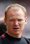 Wrexham's manager Brian Carey