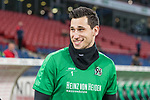 28.01.2018, HDI Arena, Hannover, GER, 1.FBL, Hannover 96 vs VfL Wolfsburg<br /> <br /> im Bild<br /> Philipp Tschauner (Hannover 96 #1), <br /> <br /> Foto &copy; nordphoto / Ewert