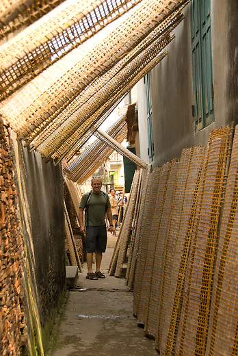 In the small village of Tho Ha, just outside of Hanoi, the streets and alleys are lines with rice paper drying. At one time Vietnam didn't produce enough rice to feed itself, but with the introduction of the free market they've soared to become one of the top exporters in the world. Vietnam's economic growth has been among the highest in the world in the past decade.