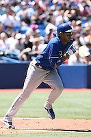 May 24th 2009:  Shortstop Tony Pena (1) of the Kansas City Royals during a game at the Rogers Centre in Toronto, Ontario, Canada .  Photo by:  Mike Janes/Four Seam Images