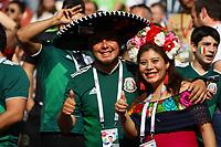 Mexikanische Fans haben Spaß - 17.06.2018: Deutschland vs. Mexico, Luschniki Stadium Moskau
