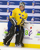 Johan Gustafsson (Sweden - 1) - Sweden defeated the Czech Republic 4-2 at the Urban Plains Center in Fargo, North Dakota, on Saturday, April 18, 2009, in their final match of the 2009 World Under 18 Championship.