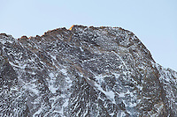 First light on Capitol Peak, near Snowmass Colorado
