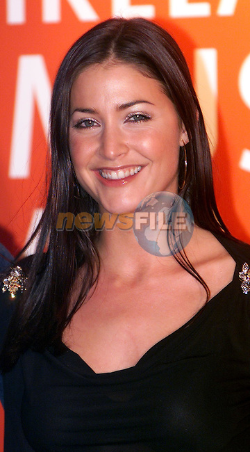 MTV's Lisa Snowdon at the Meteor Irish Music Awards in the Point on Friday night..Picture: Paul Mohan/Newsfile..SEE JOHN CASSIDY FOR COPY IN IRISH SUNDAY MIRROR