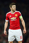 Michael Carrick of Manchester United during the UEFA Europa League match at Old Trafford. Photo credit should read: Philip Oldham/Sportimage
