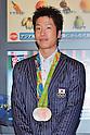 Jun Mizutani (JPN), AUGUST 20, 2016 - Table Tennis : Rio 2016 Summer Olympic Games table tennis men's team silver medalists Jun Mizutani arrives at Tokyo International Airport in Tokyo, Japan, on August 20, 2016. (Photo by AFLO)