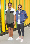 Nathan Henry and Aaron Chalmers at MTV HQ ahead of the premiere of Season 15 of Geordie Shore. London, United Kingdom - Tuesday August 29, 2017