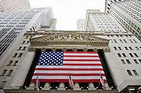New York, Usa, Giugno 2007. La borsa di New York.