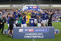 Chesterfield v Fleetwood 3.5.14