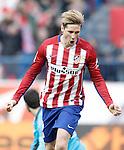 Atletico de Madrid's Fernando Torres celebrates goal during La Liga match. February 6,2016. (ALTERPHOTOS/Acero)