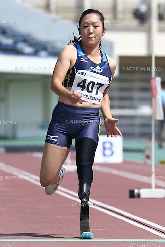 Saki Takakuwa,<br /> MAY 1, 2016 - Athletics :<br /> Japan Para Athletics Championships<br /> Women's Long Jump T44 Final<br /> at Coca Cola West Sports Park, Tottori, Japan.<br /> (Photo by Shingo Ito/AFLO SPORT)