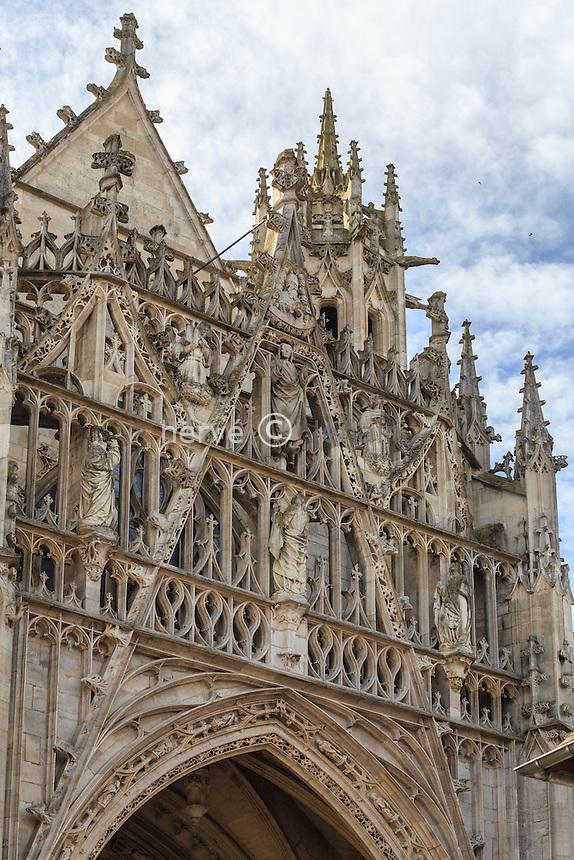 France, Orne (61), Alençon, église Notre-Dame d'Alençon // France, Orne, Alencon, Notre Dame Basilica of Alencon