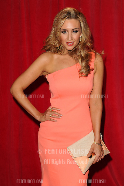 Catherine Tyldesley arriving for the 2014 British Soap Awards, at the Hackney Empire, London. 24/05/2014 Picture by: Steve Vas / Featureflash