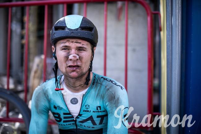 Yves Coolen (BEL/Beat Cycling Club) post race<br /> <br /> Antwerp Port Epic 2019 <br /> One Day Race: Antwerp > Antwerp 187km<br /> <br /> ©kramon