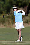 16 October 2016: UNC's Cheni Xu (CHN). The Final Round of the 2016 Ruth's Chris Tar Heel Invitational NCAA Women's Golf Tournament hosted by the University of North Carolina Tar Heels was held at the UNC Finley Golf Club in Chapel Hill, North Carolina.