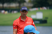 Padraig Harrington (IRL) on the 17th green during Wednesday's Practice Day of the 2017 PGA Championship held at Quail Hollow Golf Club, Charlotte, North Carolina, USA. 9th August 2017.<br /> Picture: Eoin Clarke | Golffile<br /> <br /> <br /> All photos usage must carry mandatory copyright credit (&copy; Golffile | Eoin Clarke)
