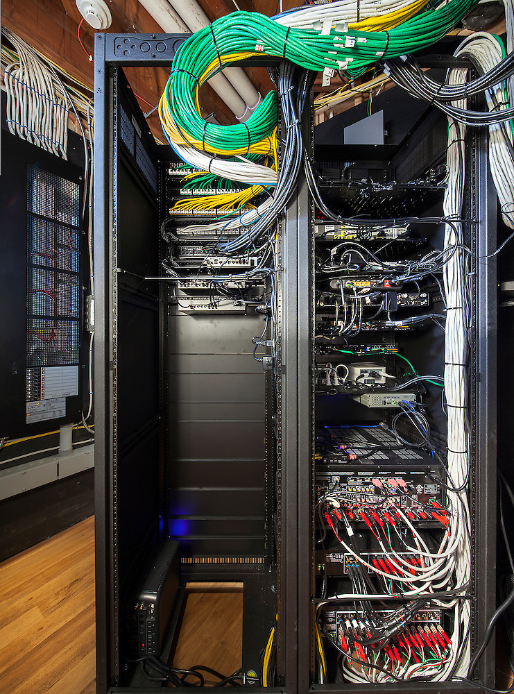 Smart Home Equipment Rack