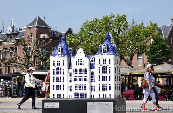Nederland - Amsterdam - 2018.  Canal House Parade op het Museumplein. Gebouwen in het klein. Op de foto het Tropenmuseum.  Foto Berlinda van Dam / Hollandse Hoogte.