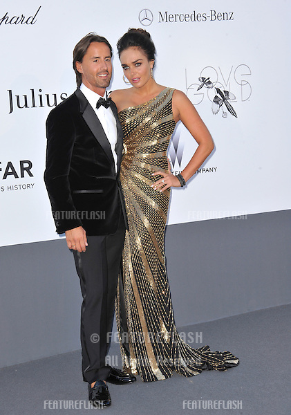 Tamara Ecclestone & Jay Rutland at amfAR's 20th Cinema Against AIDS Gala at the Hotel du Cap d'Antibes, France.May 23, 2013  Antibes, France.Picture: Paul Smith / Featureflash