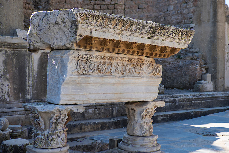 The ancient street of Ephesus is littered with incredible pieces of Greek history.