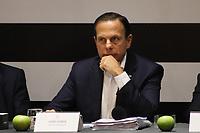 SÃO PAULO, SP, 18.10.2019 - POLITICA-SP - João Doria, Governador de São Paulo, participa de reunião de secretariado estadual, no Palácio dos Bandeirantes, em São Paulo, nesta sexta-feira, 18. (Foto Charles Sholl/Brazil Photo Press/Folhapress)