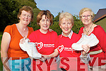 Killarney Strutters Walking Group members l-r: Maura Gammell, Mairead McCarthy, Aideen O'Connor and Sue McDonough who have organised a walk in aid of the Irish Heart Foundation which will start in the Muckross House car park on Thursday 30th September