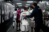 Players exit tunnel <br /> Re: Behind the Scenes Photographs at the Liberty Stadium ahead of and during the Premier League match between Swansea City and Bournemouth at the Liberty Stadium, Swansea, Wales, UK. Saturday 25 November 2017