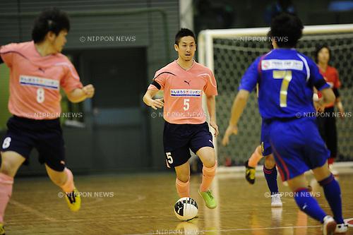 Akira Toyoshima, MAY 3rd, 2011 - Futsal : during the PUMA CUP 2011  for victims of earth quake at Komazawa Arena, Tokyo, Japan. (Photo by Atsushi Tomura /AFLO SPORT) [1035]
