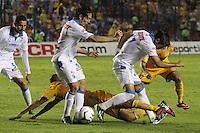 Gallos Blancos de Queretaro  enpatan 2-2 con Tigres de Monterrey.<br /> (SieteFoto/NortePhoto.com)