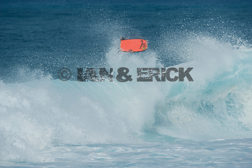 Jeff Hubbard (HAW) at Backdoor on the Northshore of Oahu in Hawaii.