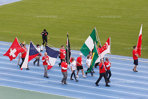 Overseas athletes, OCTOBER 11, 2014 : Memorial event of 1964 Tokyo Olympic and Paralympic 50 years memorial week is held at Komazawa athletics stadium, Tokyo, Japan. (Photo by AFLO SPORT) [1180]