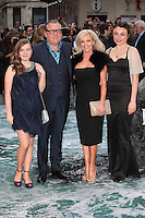 Ray Winstone and Elaine Winstone with daughters Ellie and Lois arriving for the UK Premiere or Noah, at Odeon Leicester Square, London. 31/03/2014 Picture by: Alexandra Glen / Featureflash