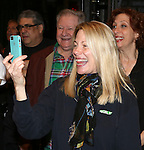Marin Mazzie during the Broadway Opening Night Performance AEA Gypsy Robe Ceremony honoring Kevin Ligon for ''Bullets Over Broadway' at the St. James Theatre on April 10, 2014 in New York City.