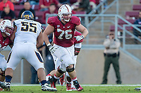 STANFORD, CA - NOVEMBER 23, 2013: Kevin Danser during Stanford's game against Cal. The Cardinal defeated the Bears 63-13.
