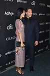 Michelle Lee and husband Erwin Valencia arrive at the 2017 Clio Awards in The Tent at Lincoln Center in New York City on September 27, 2017.