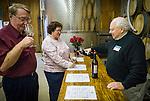 Amador Vintner's Behind the Cellar Door event..Red wine library tasting at TKC Vineyards